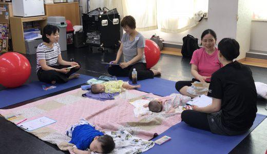 【産後ケア】千葉教室5月コースがスタートしました!