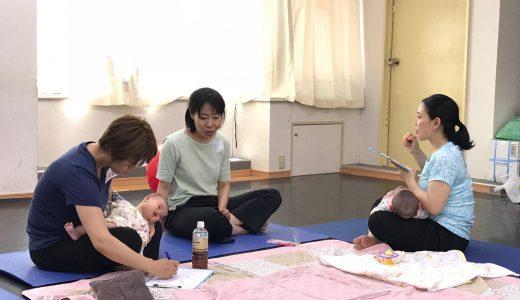 【産後ケア】千葉教室の2週目でした!
